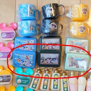 ディズニー(Disney)の専用☆ディズニーホテル アメニティ缶 3点セット(タオル/バス用品)