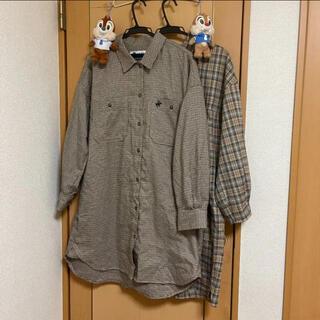 イチナナキュウダブルジー(179/WG)のシャツワンピース セット(ひざ丈ワンピース)