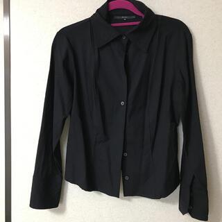 Gucci - GUCCI 黒シャツ 七分袖