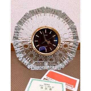 SEIKO - ビンテージ SEIKOセイコー/クオーツ クロック置時計 QZ892S