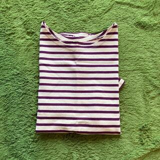 バックナンバー(BACK NUMBER)のボーダーTシャツ M(Tシャツ/カットソー(半袖/袖なし))