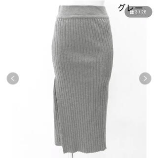 ANAP - ANAP スリットリブスカート