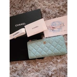 CHANEL - ☆極美品☆CHANEL L字ファスナー 長財布 シャンパンゴールド