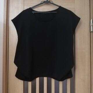 ケービーエフ(KBF)のKBF 立体黒ブラウス(シャツ/ブラウス(半袖/袖なし))