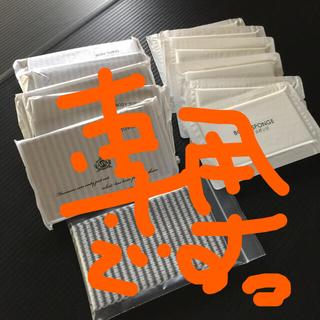 ●使い捨てボディタオル6個(アパホテル)+使い捨てボディスポンジ6個● (旅行用品)