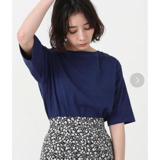 コーエン(coen)のcoen USAコットンボートネックTシャツ(Tシャツ/カットソー(半袖/袖なし))