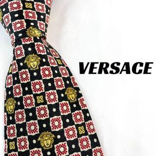ジャンニヴェルサーチ(Gianni Versace)の【1941】美品!VERSACE ヴェルサーチ ネクタイ メデューサ柄(ネクタイ)