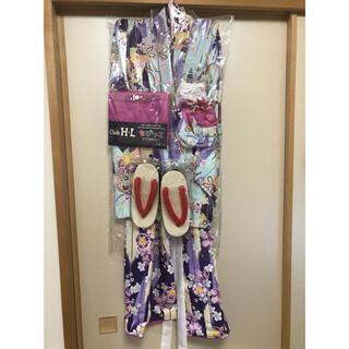 ちびっこ お出かけ着物 6点セット + 足袋(和服/着物)