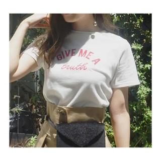 マーキュリーデュオ(MERCURYDUO)のMERCURYDUO SimpleクルーネックTシャツ(Tシャツ(半袖/袖なし))