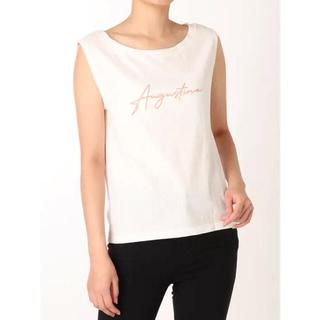 マーキュリーデュオ(MERCURYDUO)のMERCURYDUO フロッキーロゴTシャツ(Tシャツ(半袖/袖なし))
