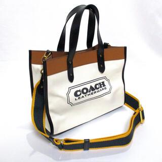 COACH - COACH 未使用 [a1] キャンバス トート バッグ 89488 ホワイト