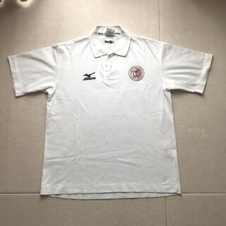 ミズノ(MIZUNO)のミズノ  ポロシャツ ホワイト レディースS(ポロシャツ)