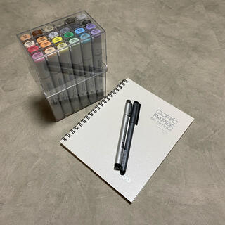 コピック スケッチ ベーシック 24色セット +オマケ(カラーペン/コピック)