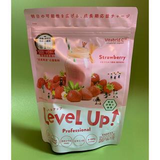 Level Up☆レベルアップ いちごミルク風味 成長期サポート飲料♪(ビタミン)