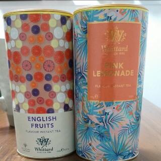 Whittard PinkLemonade,EnglishFruits2本セット(茶)
