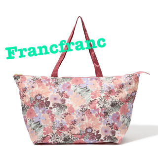 Francfranc - Francfranc  ヴォヤージュ キャリーオントートバッグ 花柄