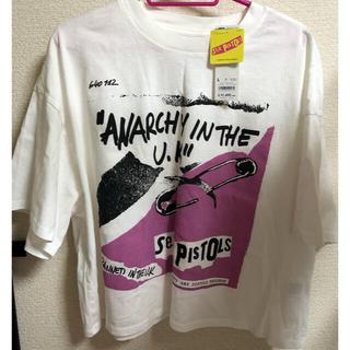 GU グラフィックT(5分袖)Sex Pistols 2YG+E  Tシャツ