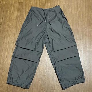 エンジニアードガーメンツ(Engineered Garments)のスノーカモオーバーパンツ 黒染め(ワークパンツ/カーゴパンツ)