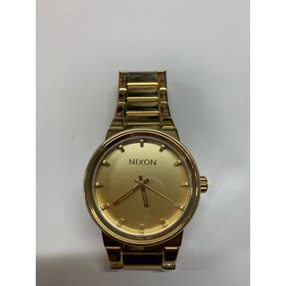 ニクソン(NIXON)のNIXON ニクソン 腕時計 時計 ゴールド アナログ 電池式 レディース(腕時計)