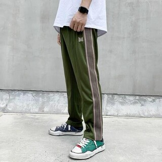 Needles - needles NARROW TRACK PANTS