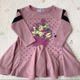 アナスイミニ(ANNA SUI mini)のANNA SUI mini チュニック サイズ80(Tシャツ)