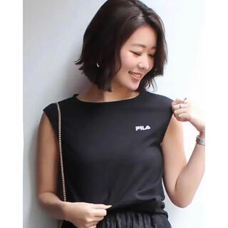マーキュリーデュオ(MERCURYDUO)のMERCURYDUO × FILA(Tシャツ(半袖/袖なし))