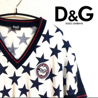 DOLCE&GABBANA - 早い者勝ち!ハイブランド 正規品 D&G ドルチェアンドガッパーナ 美品 ロゴ