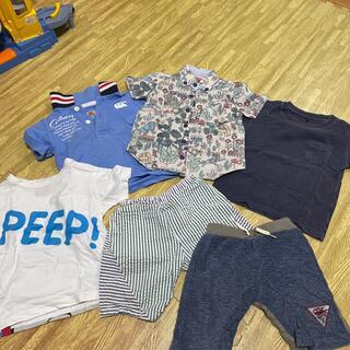 ハッカキッズ(hakka kids)のHakka kids ポロシャツ ショートパンツ セット(Tシャツ/カットソー)