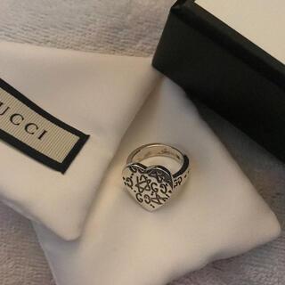 新品未使用 gucci リング ハート 指輪 お洒落(リング(指輪))