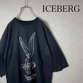 アイスバーグ(ICEBERG)のアイスバーグ history Tシャツ キャラクター刺繍 大きいサイズ(Tシャツ/カットソー(半袖/袖なし))