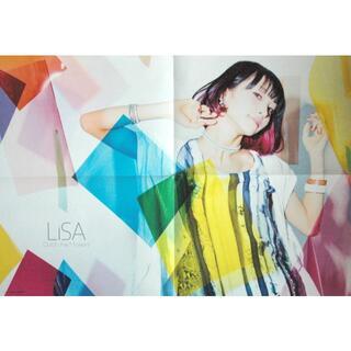 LiSA × UVERworld 撮り下ろしポスター(ポスター)