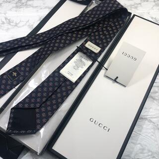 Gucci - グッチ GUTTI ダブルG ハートタイ ネクタイ 新品未使用タグ付き
