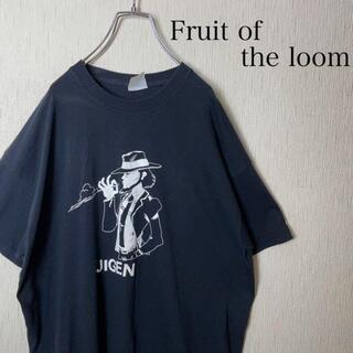 アートヴィンテージ(ART VINTAGE)の希少 90s ルパン三世 次元大介 tシャツ fruit of the loom(Tシャツ/カットソー(半袖/袖なし))