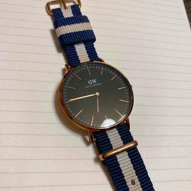 Daniel Wellington(ダニエルウェリントン)の※美品•値下げ中※ダニエルウェリントン 時計 メンズの時計(腕時計(アナログ))の商品写真
