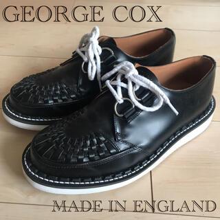 ジョージコックス(GEORGE COX)のジョージコックス ギブソン ラバーソール イギリス製 レースアップレザーシューズ(ドレス/ビジネス)