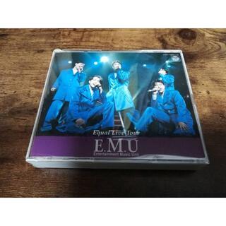 E.M.U CD「Equal Live Tour」エム 緑川光 置鮎龍太郎 声優(アニメ)