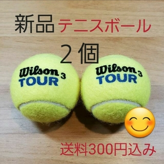 ウィルソン(wilson)の硬式 テニスボール2個 新品未使用(ボール)