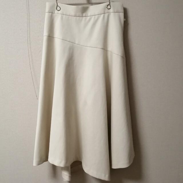 ANAYI(アナイ)のアナイ ダブルクロスアシメ フレアスカート レディースのスカート(ロングスカート)の商品写真