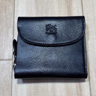 IL BISONTE - 新品イルビゾンテ ミニ財布 小銭入れ付き レディース メンズ 黒