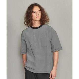 ビューティアンドユースユナイテッドアローズ(BEAUTY&YOUTH UNITED ARROWS)のBY ミジンボーダー ワイドフォルム Tシャツ(Tシャツ/カットソー(半袖/袖なし))