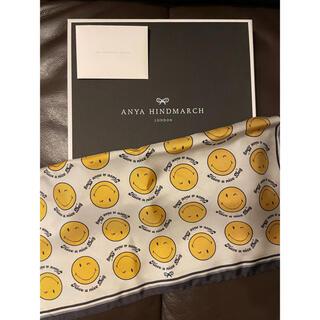 アニヤハインドマーチ(ANYA HINDMARCH)のANYA HINDMARCH アニヤハインドマーチ スマイリー スカーフ(バンダナ/スカーフ)