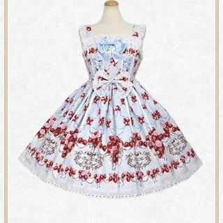BABY,THE STARS SHINE BRIGHT - Strawberry Rose Bouquet 1型 ジャンパースカート