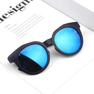 子供用サングラス キッズサングラス ブルーミラー UV400(サングラス)