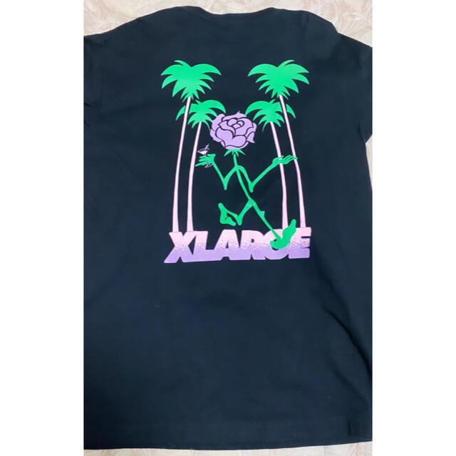XLARGE(エクストララージ)のXLARGE ロンT ブラック パープル メンズのトップス(Tシャツ/カットソー(七分/長袖))の商品写真