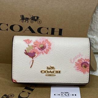 COACH - 【新品】コーチ COACH フローラル プリント キーケース C0379