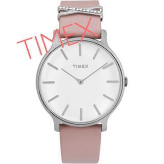タイメックス(TIMEX)のTIMEXレディース腕時計 エレガントスタイル ピンク 新品未使用(腕時計)