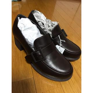 アシナガオジサン(あしながおじさん)のあしながおじさん ヒールローファー(ローファー/革靴)
