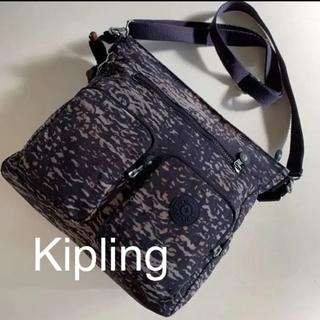 Kipling キプリング   2way ショルダー バッグ ネイビー