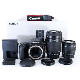 Canon - 【美品】キャノン Canon EOS kiss X9 ダブルレンズキット