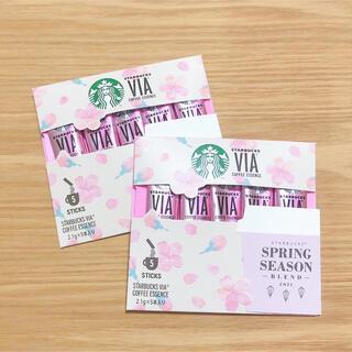 スターバックスコーヒー(Starbucks Coffee)のスターバックス ヴィアスプリング シーズン ブレンド インスタントコーヒー(コーヒー)